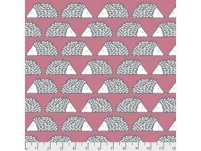 dětská metráž ježek ježci PWSC009.BERRY