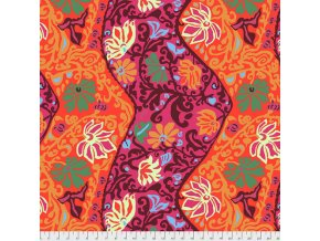 metráž látka BALI BROCADE Brandon Mably PWBM069.RED