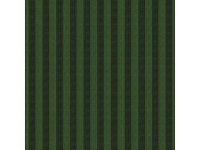 pruhovaná látka kaffe fassett tkaný proužek metráž na roušky bavlna ssgp002.seaweed