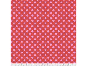 americká metráž látka z kolekce Tula Pink True Colors prodej látek VierMa PWTP118.POPPY