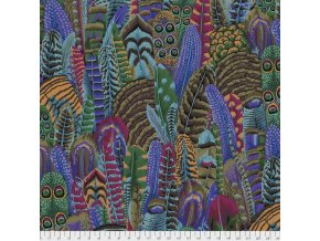 americká látka na šití designová metráž návrhář Philip Jacobs vzor peří Feathers in Autumn prodej látek VierMa PWPJ055.AUTUMN