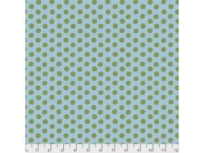 metráž puntíkovaná bodkovaná Kaffe Fassett Spots zelená americká látka designová metráž prodej VierMa.cz PWGP070.SAGE