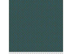 PWGP070.BOTTL puntíkovaná látka zelená lahvová amercická metráž návrhář Kaffe Fassett designová prodej VierMa.cz