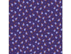 americká látka designová metráž návrhářka Tula Pink kolekce Curiouser and Curiouser PWTP167.DAYDREAM