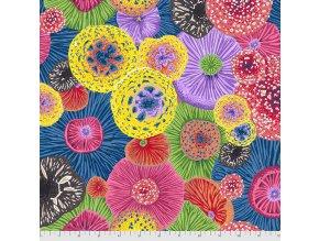 metráž muchomůrky americká látka návrhář Philip Jacobs na patchwork na šití bavlněné plátno Toadstools in Multi PWSL097.MULTI