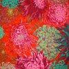 metráž na patchwork americká látka vzor chryzantémy Philip Jacobs