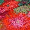Japonské chryzantémy rudé americká látka luxusní metráž Kaffe Fassett Collective