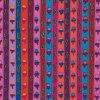 bavlněná látka Ribbon Stripe in Red