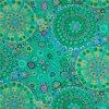 bavlněná látka Millefiore in Jade návrhář Kaffe Fassett luxusní metráž na patchwork