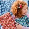 americké látky designová metráž návrhářka Amy Butler vzor pastelek na jaro látka na sukně šaty na šití prodej VierMa.cz