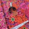 metráž Kaffe Fassett designová látka vierma americké plátno kouzelná zahrada květinová látka