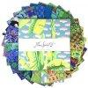 set látek na patchwork LAYER CAKE čtverce 10 x 10 palců designová metráž Kaffe Fassett Collective charm pack FB610GPFEB2021.COOL