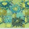 metráž designová vzor chryzantémy kontrastní americká látka návrhář Philip Jacobs prodej VierMa