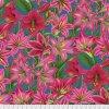 květinová metráž americká látka návrhář Philip Jacobs pro Kaffe Fassett Collective prodej VierMa.cz Amaryllis Red PWPJ104.RED