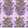 americká metráž látka na patchwork šití návrhářka Anna Maria Horner Visitation in Lilac Ptačí spěv fialový PWAH161.LILAC