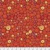 metráž Kaffe Fassett látka se vzorem knoflíků Button Mosaic prodej VierMa PWGP182.ORANG
