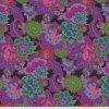 PWGP046.PURPLE designová americká metráž látka Kaffe Fassett Collective na patchwork i běžné šití