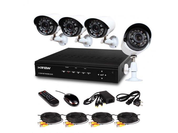 CCTV DVR Kamerový Systém