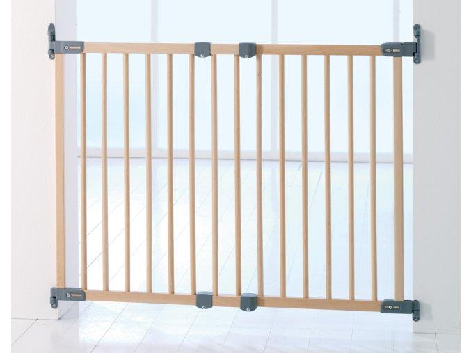 Babydan Flexi Fit fa biztonsági ajtórács 69-106,5 cm, csavaros