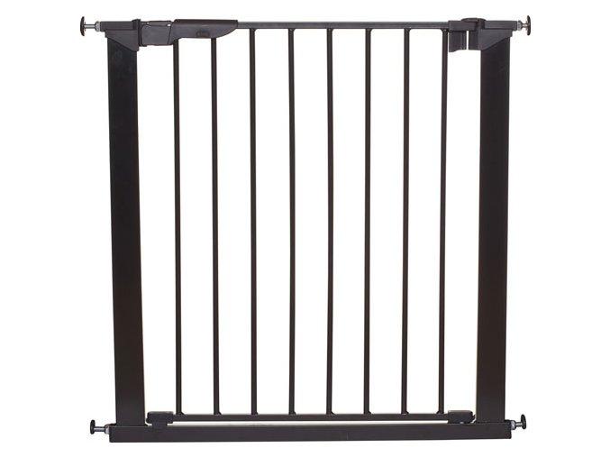 Babydan Premier biztonsági ajtórács 73-80 cm fekete