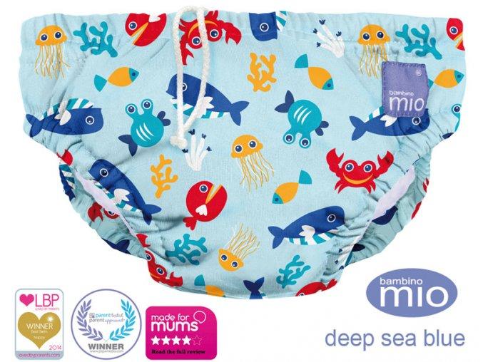 Úszópelenka Bambino Mio Deep Sea Blue méret M