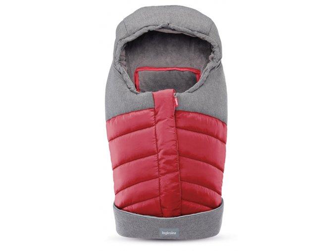 Inglesina Newborn Winter Muff Red téli újszülött lábzsák