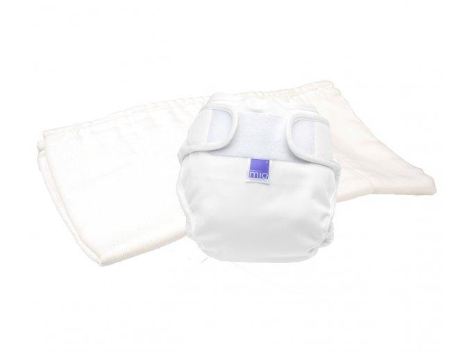 MioSoft test pelenka csomagolás, Új fehér, méret 1 (9 kg-ig)