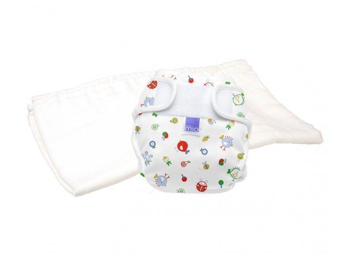 MioSoft test pelenka csomagolás, Új mintával, méret 2 (9-kg felett)