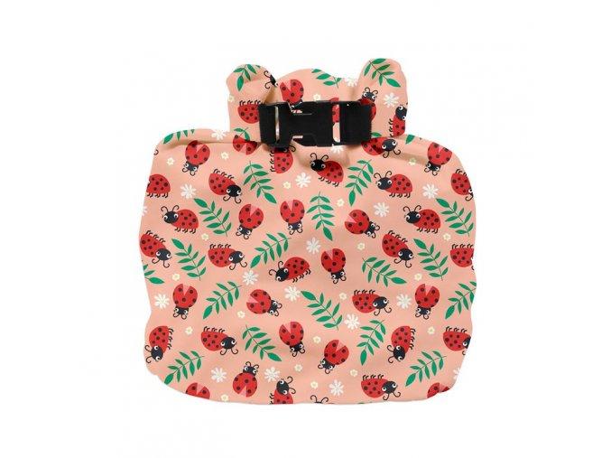 Vízhatlan pelenkatároló táska Loveable Ladybug WNB LBUG