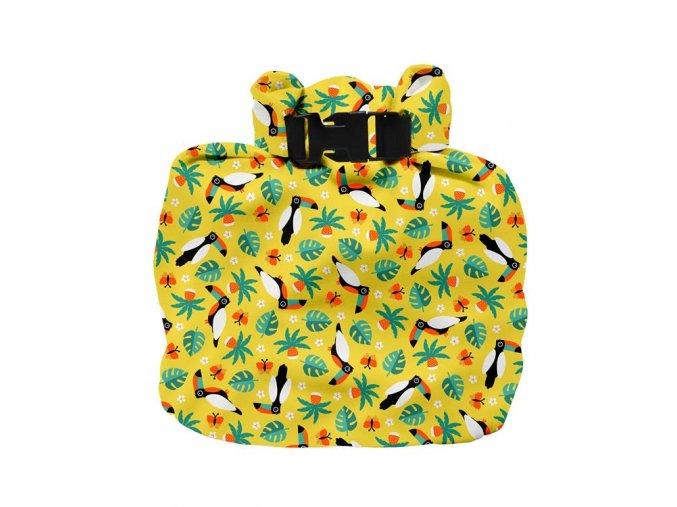 Vízhatlan pelenkatároló táska Tropical Toucan WNB TCN