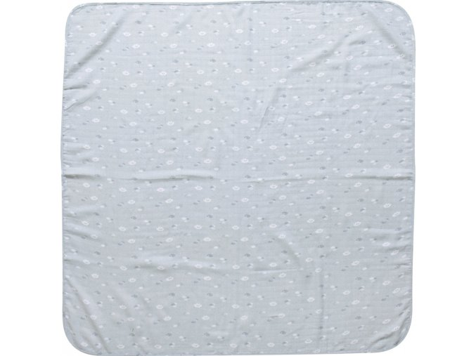 Luma Bambusz muszlin pelenka 110 x 110 cm Lovely Sky