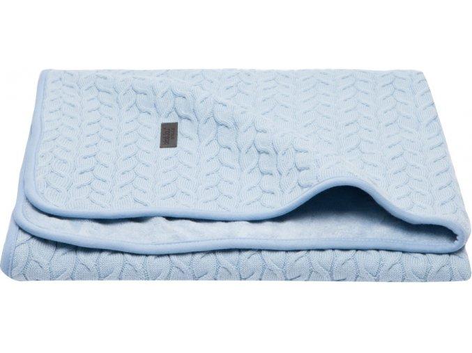 Samo téli babatakaró frottír réteggel  kék