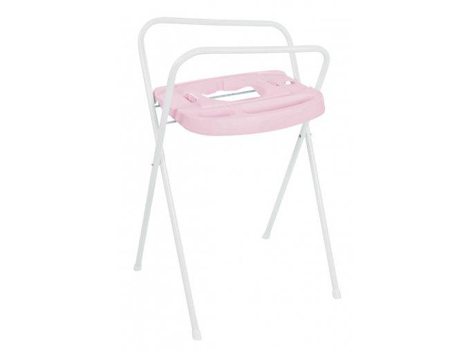 Click rózsaszín fém állvány kádra 98 cm Bebe jou