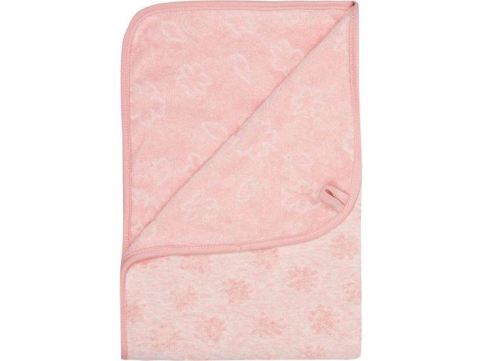 Rózsaszín Multifunkcionális pléd Bébé-Jou Fabulous Blush Pink