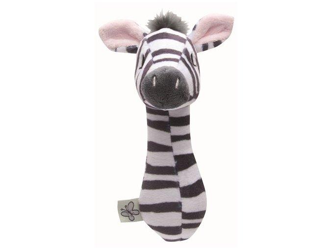 Plüss csörgő Bébé-Jou Dinky Zebra