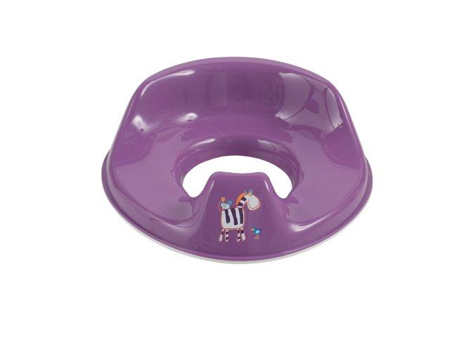 Állítható gyerek WC ülőke Bébé-Jou Ziggy zebra lila