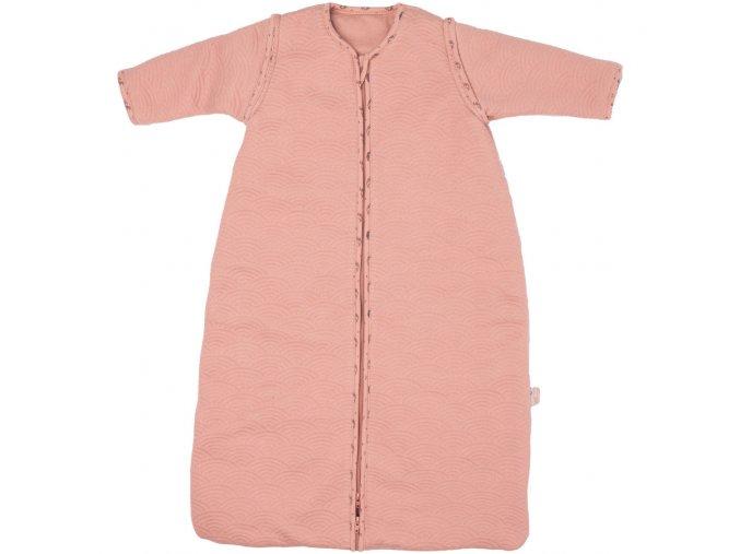Růžový zimní spací pytel pro miminka Bébé-Jou Fabulous Swan 90 cm