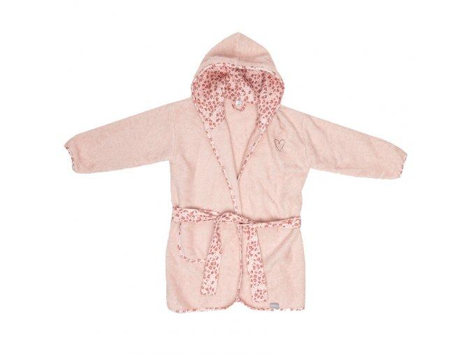 rózsaszín Köntös Bébé-Jou Leopard Pink 86/92