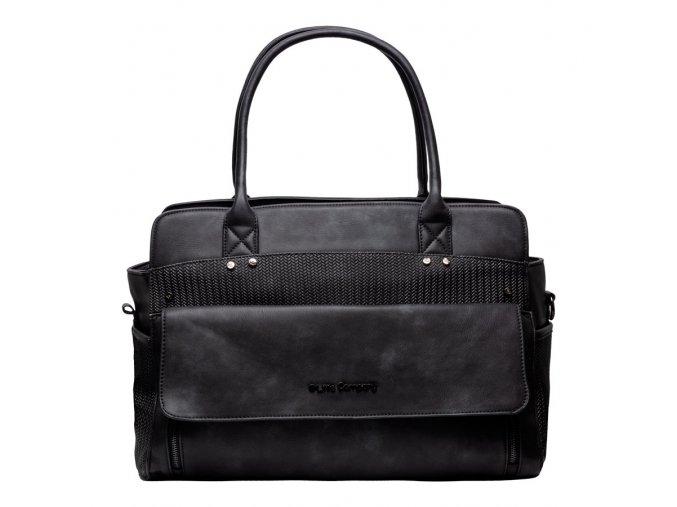 Fekete Pelenkázó táska Sevilla knit Black