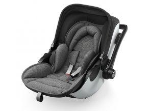 KIDDY Evoluna i-Size 2 Grey Melange 2021 icy Grey autósülés