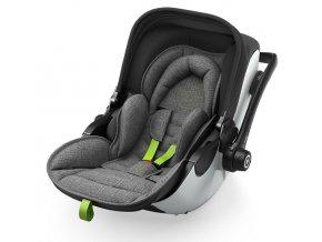 KIDDY Evoluna i-Size 2 Grey Melange 2021 super Green autósülés