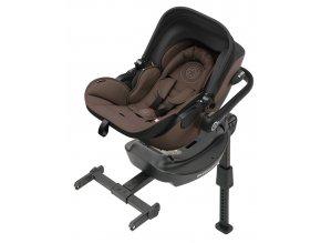 Kiddy Evoluna i-size 2021 039 Nougat Brown autósülés