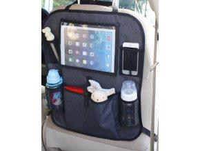 BabyDan Zsebes tároló iPad rekesszel, Luxury Grey