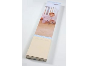 Babydan fém toldalék Avantgarde vagy Designer ajtórácshoz, 2 x 7 cm ezüst