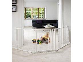 Babydan Flex L térkorlát 90-225 cm fehér
