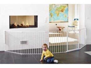 Babydan Flex XXL térkorlát 90-350 cm fehér
