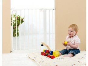 Babydan Danamic biztonsági ajtórács 73-80,5 cm, fehér