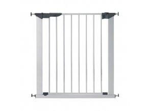 Babydan Premier biztonsági ajtórács 73-80 cm, ezüst