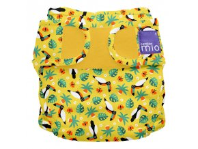 ms nappy cover (tropical toucan)