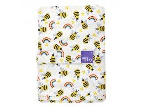 Bambino Mio Pelenkázó alátét 60x43 cm Honeybee Hive